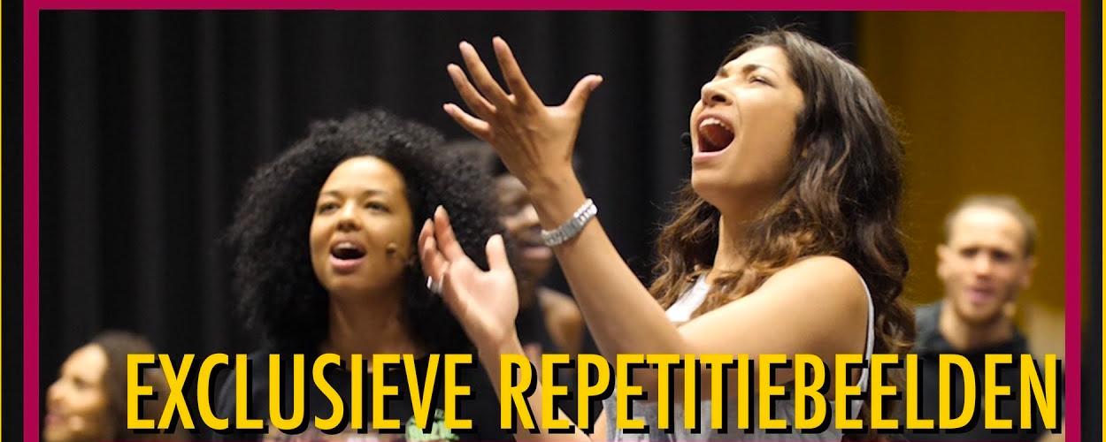 Achter de schermen bij repetities van Aida in Concert