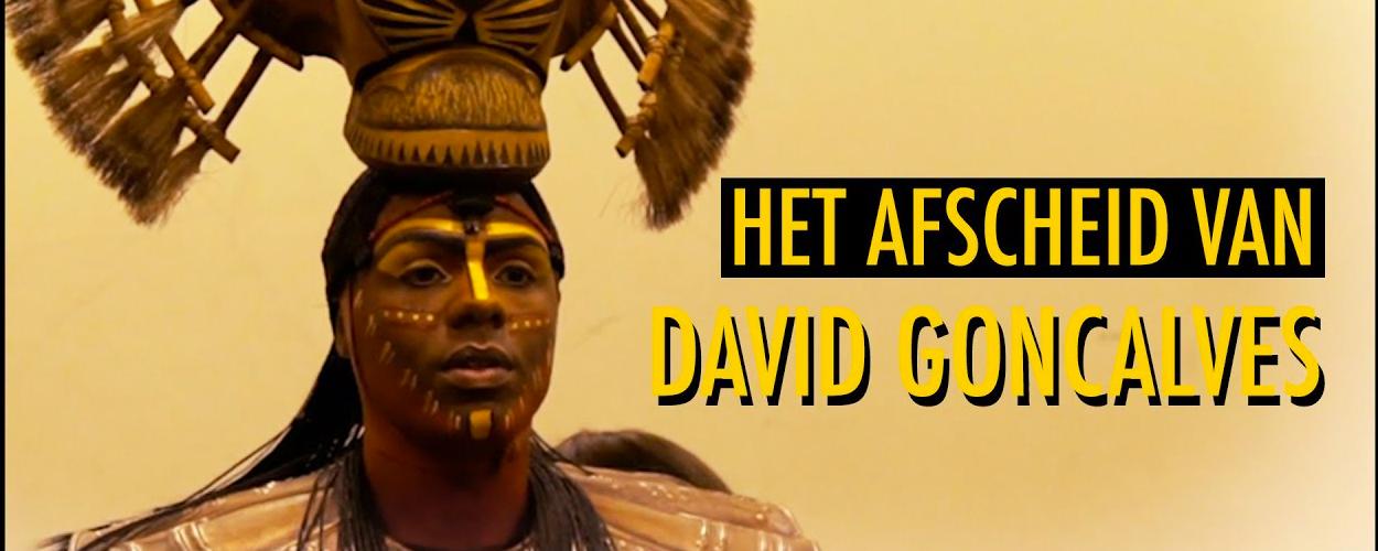 David Goncalves neemt afscheid van zijn rol in The Lion King