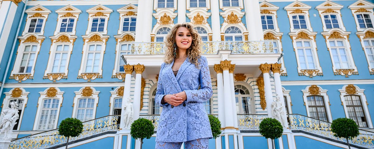 Tessa Sunniva van Tol voor Anastasia op reis naar St. Petersburg