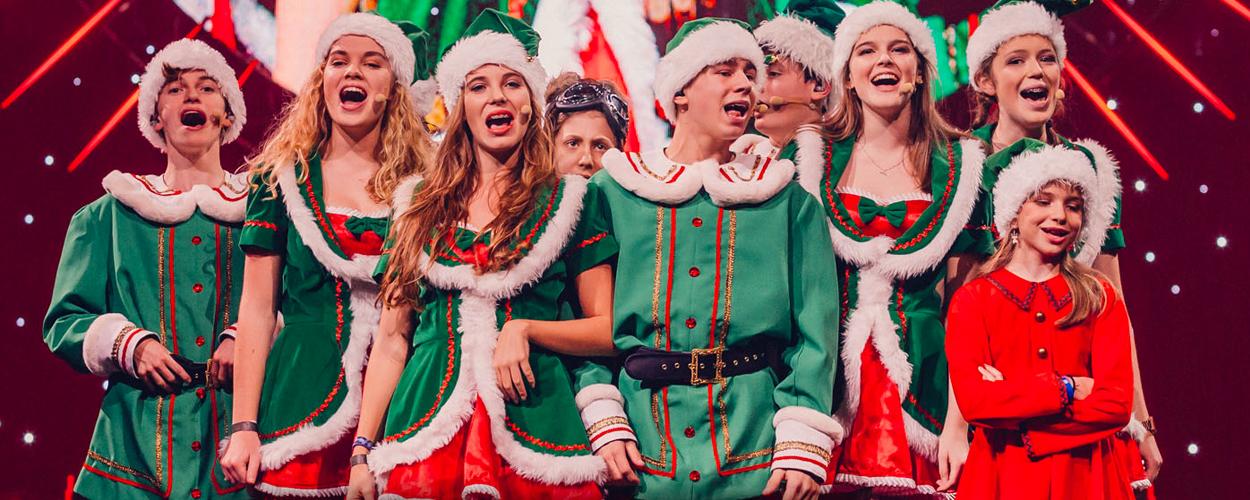 Audities: Kinderkoor Vlaamse versie The Christmas Show