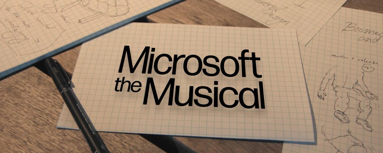 Microsoft the Musical gemaakt door werknemers en stagiaires van Microsoft