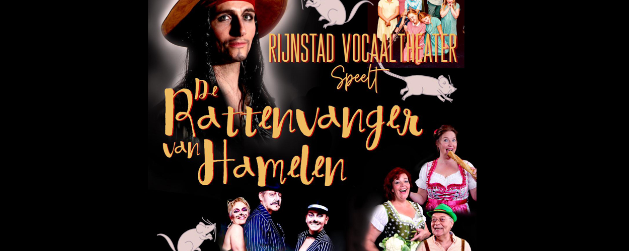 Arnhems theaterkoor heeft Nederlandse première musical Rattenvanger van Hamelen