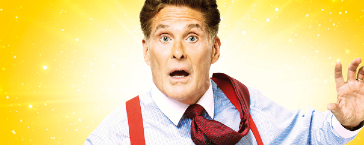 David Hasselhoff in 9 to 5 the Musical op West End