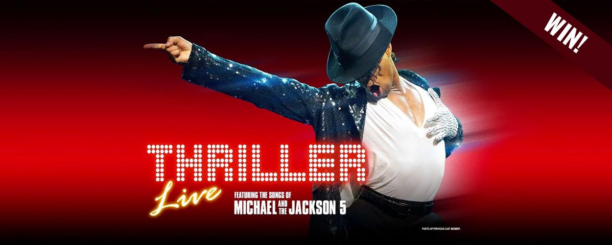 Win kaarten voor Thriller Live!