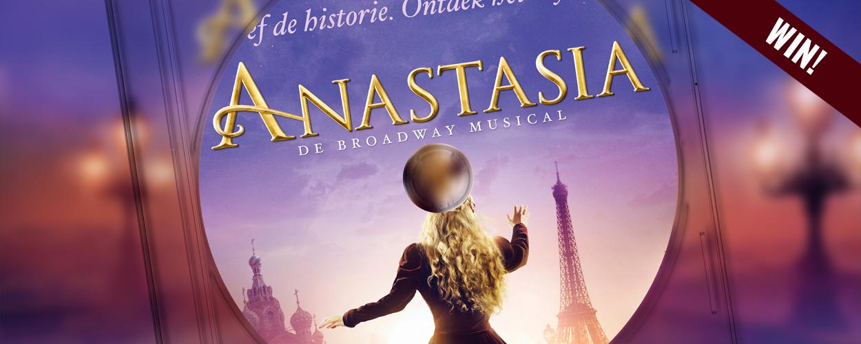 Win het Nederlandse castalbum van Anastasia