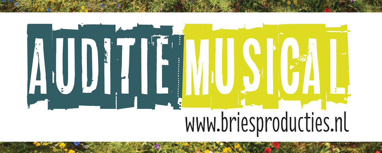 Audities: Bloemrijk en het magische Toverstekje van Musicalgroep Bries Producties