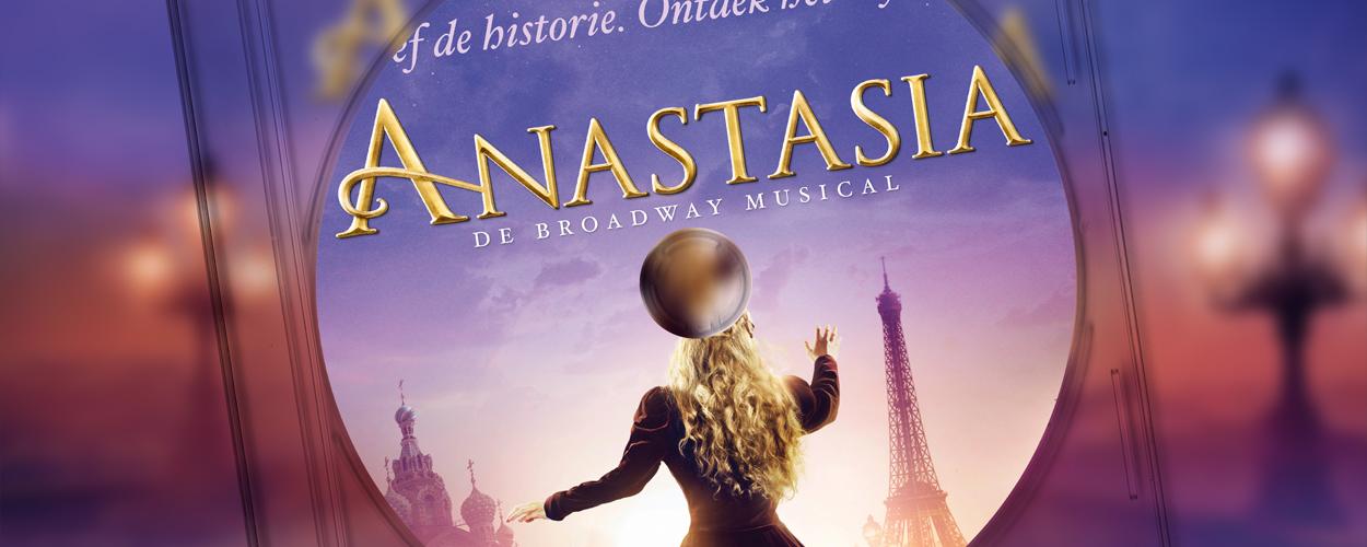 Nederlands castalbum van Anastasia nu op iTunes en Spotify
