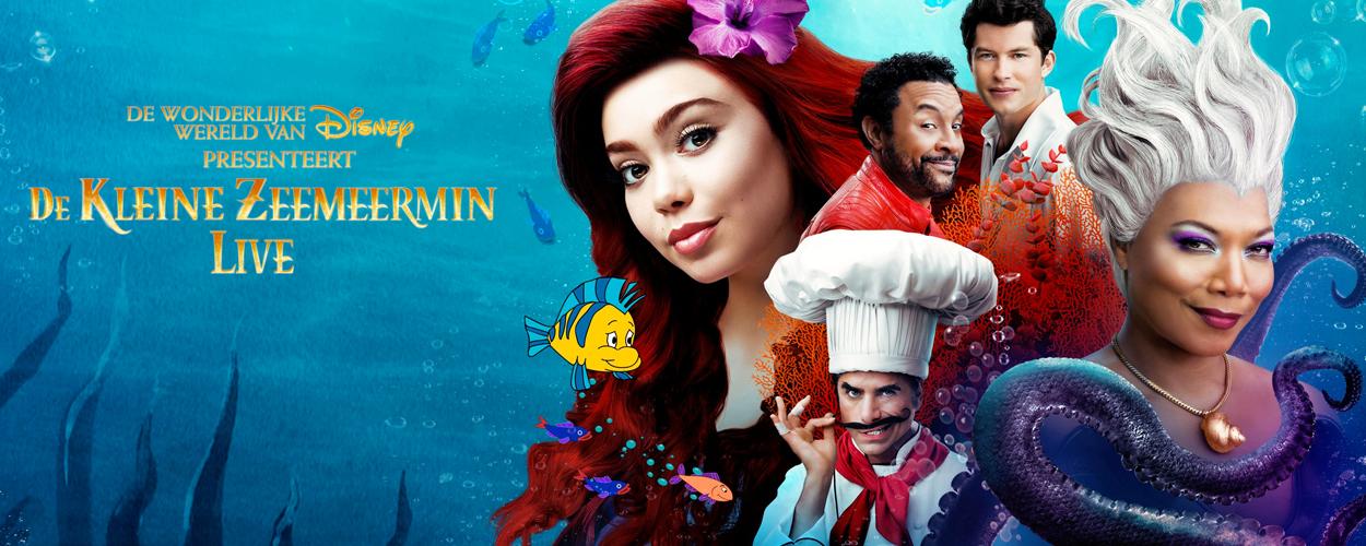 De Kleine Zeemeermin Live! te bekijken op Disney Plus