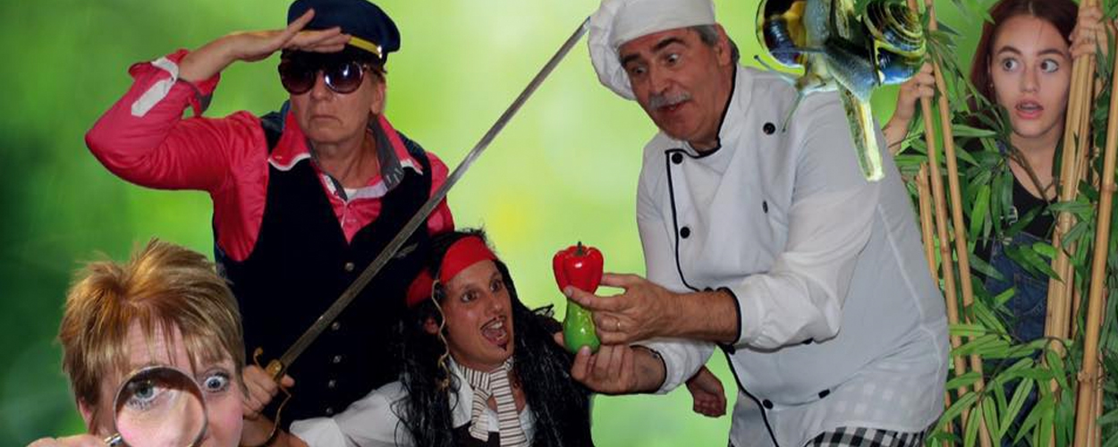 Musicalvereniging Pit! speelt de theatervoorstelling Eiland