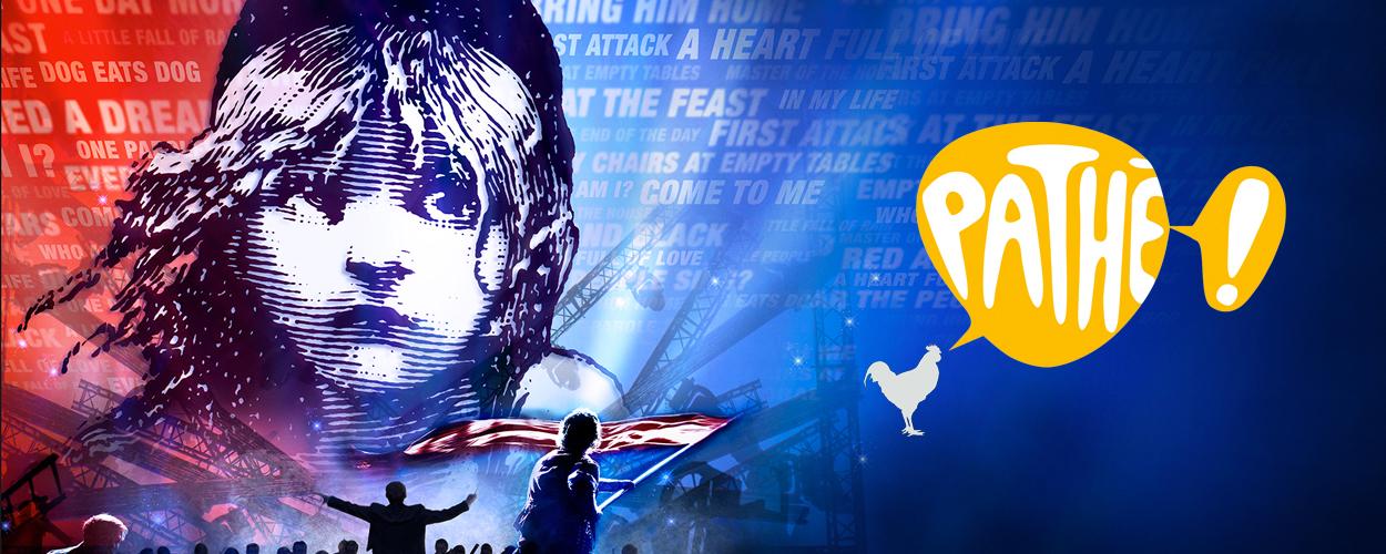 Concertversie van Les Misérables te zien bij Pathé