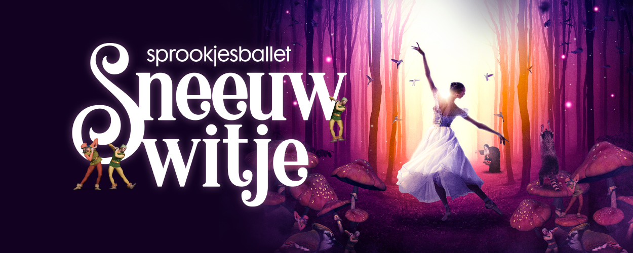 Prima Donna Events presenteert sprookjesballet Sneeuwwitje