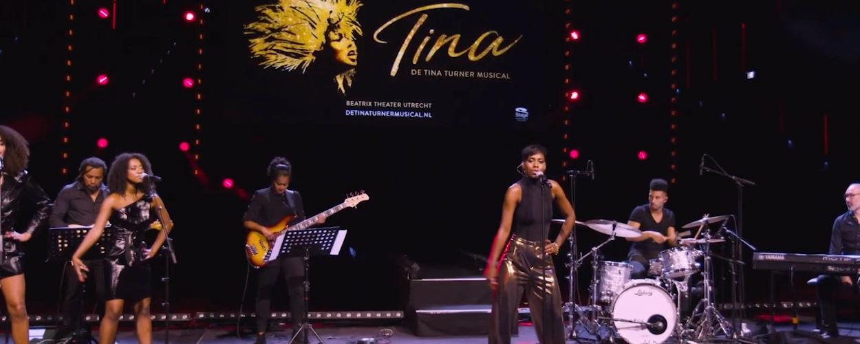 Nyassa Alberta zingt Proud Mary als Tina Turner
