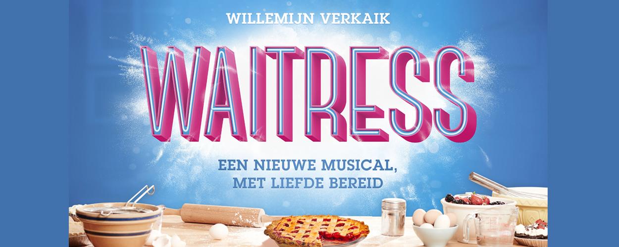Waitress met Willemijn Verkaik in de hoofdrol naar Nederlandse theaters