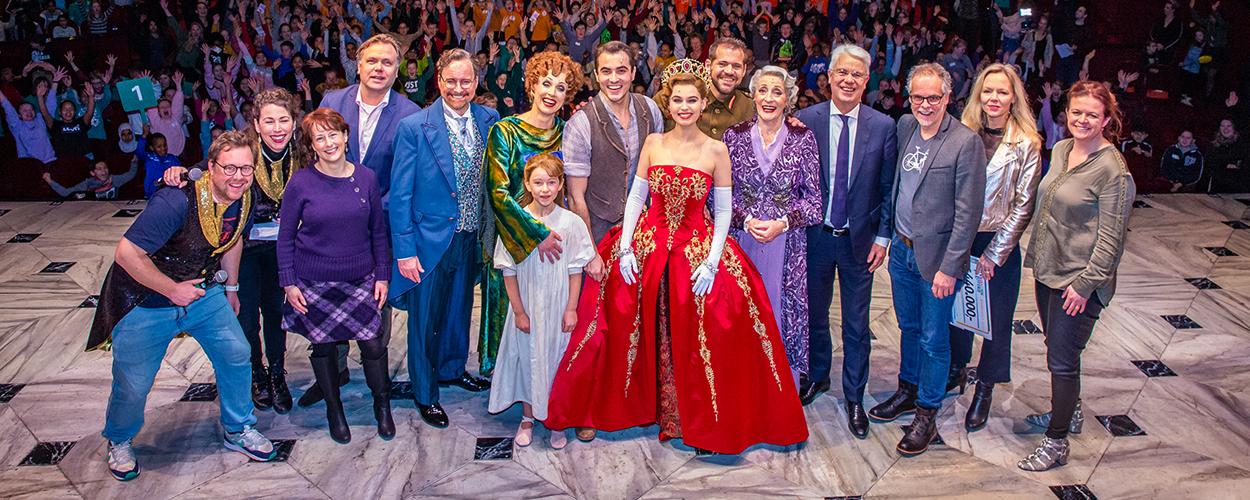 1200 kinderen beleven Anastasia in het Circustheater