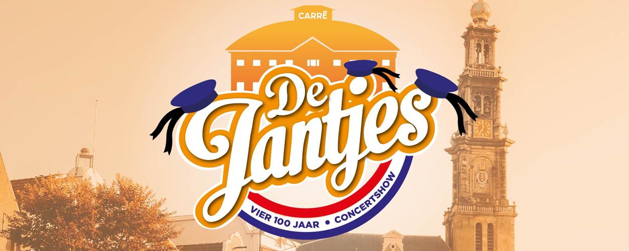 Jubileumconcert Vier 100 jaar De Jantjes in Carré