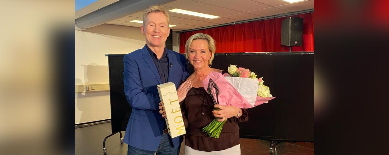 Mariska van Kolck ontvangt De Graaf & Cornelissen Wisseltrofee en krijgt rol in Titanic