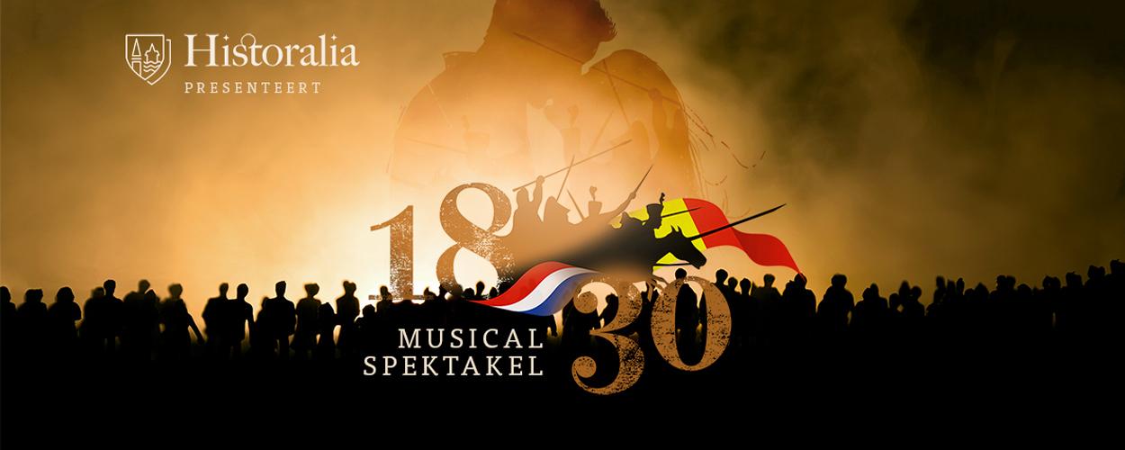 Musicalspektakel 1830 verplaatst naar zomer 2021