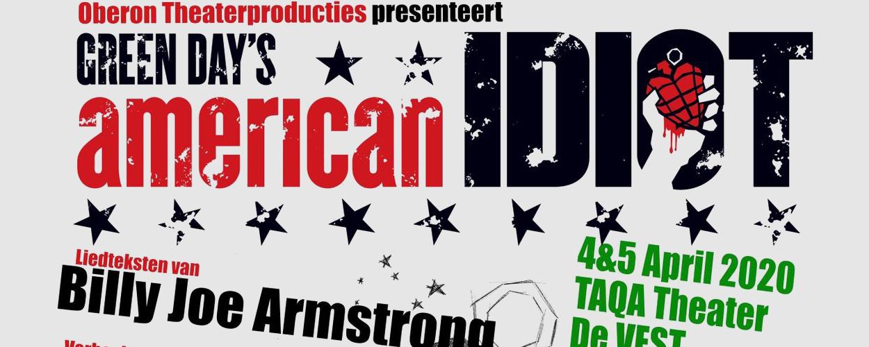 Oberon Theaterproducties brengt de musical American Idiot