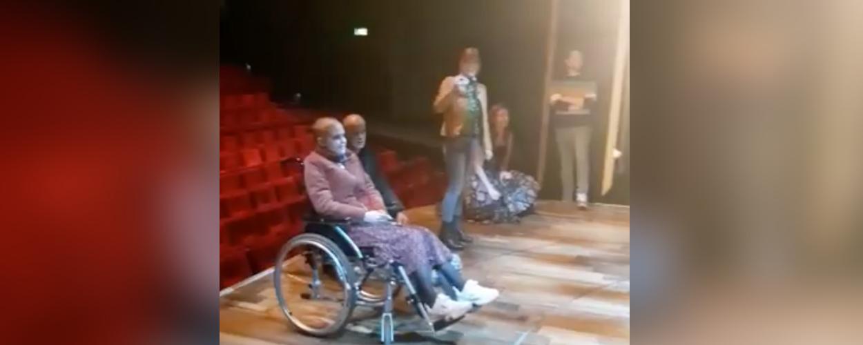 Zieke Kiki van 15 krijgt privé-optreden van Tina Turner in leeg Beatrix Theater