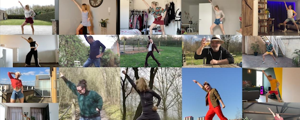 Cast Vlaamse Mamma Mia! doet een Dancing Queen vanuit huis