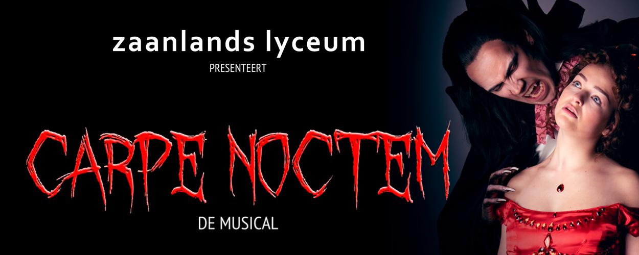 Nieuwe speeldata musical Carpe Noctem van het Zaanlands Lyceum