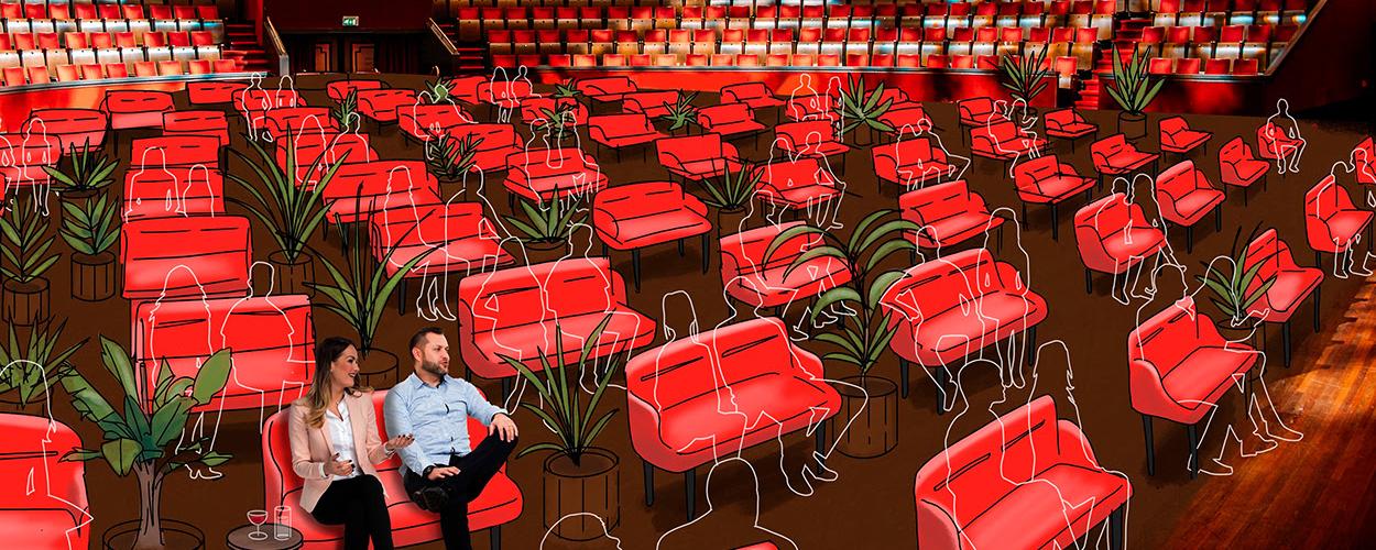 S A M E N van Theater Bellevue, De Kleine Komedie en Carré per 2 juli van start