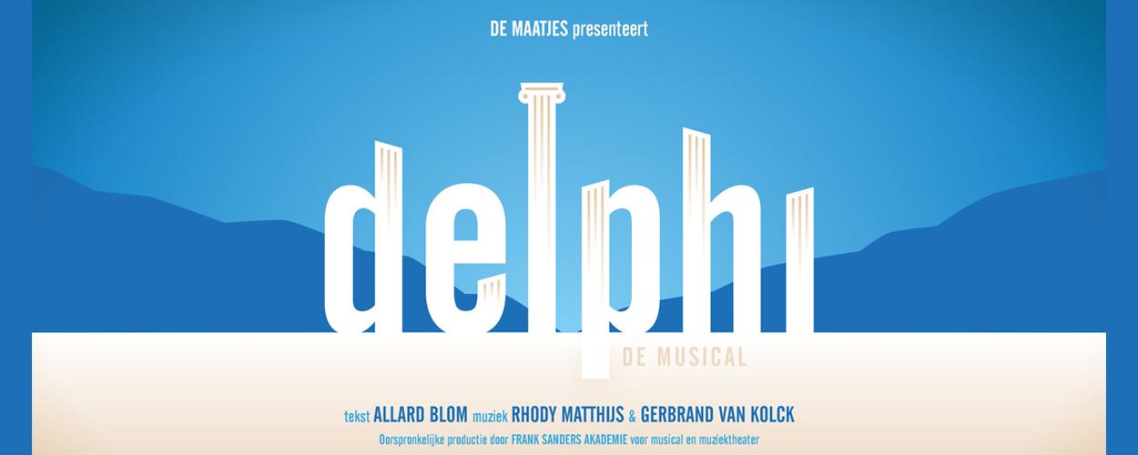 Kijk morgen via een livestream naar Delphi, de musical