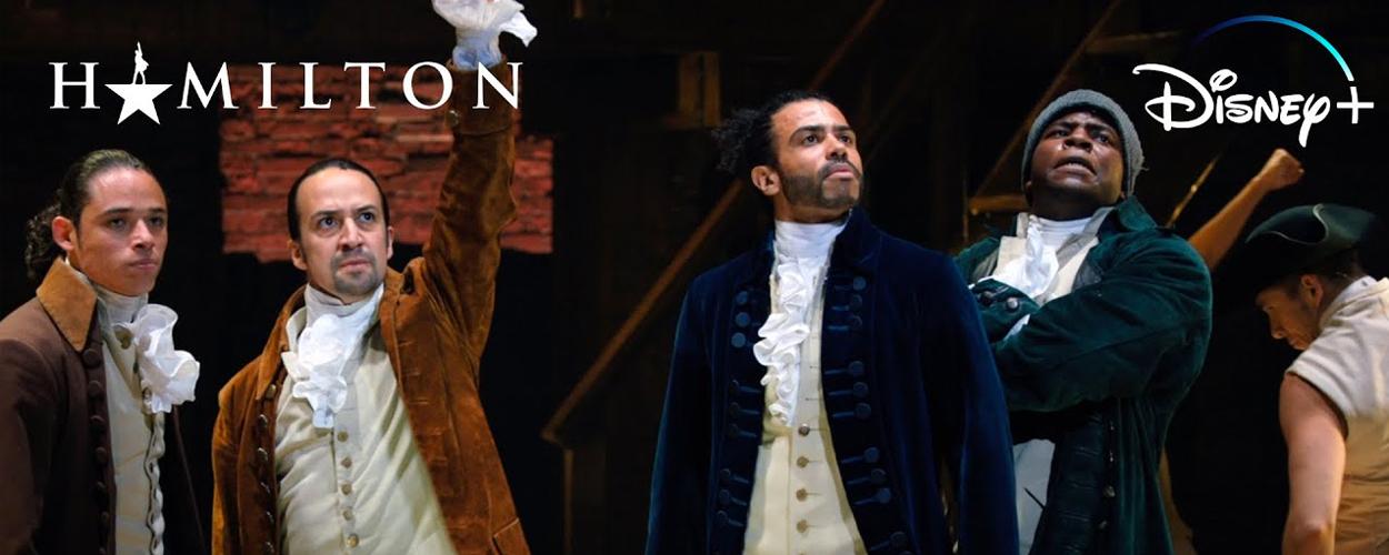 Nieuwe trailer voor Hamilton op Disney Plus