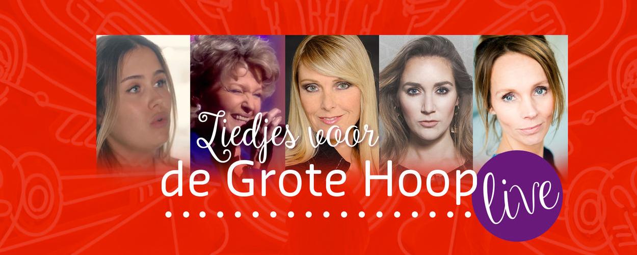 Liedjes voor de Grote Hoop in het Wilminktheater in Enschede
