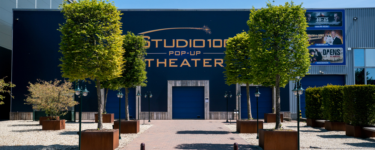 Studio 100 Pop-Up Theater in Puurs vanaf 3 november weer open
