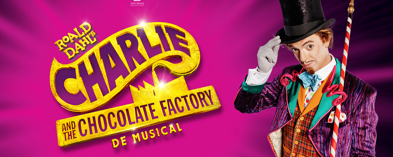 Nordin De Moor wordt Willy Wonka in Charlie and the Chocolate Factory