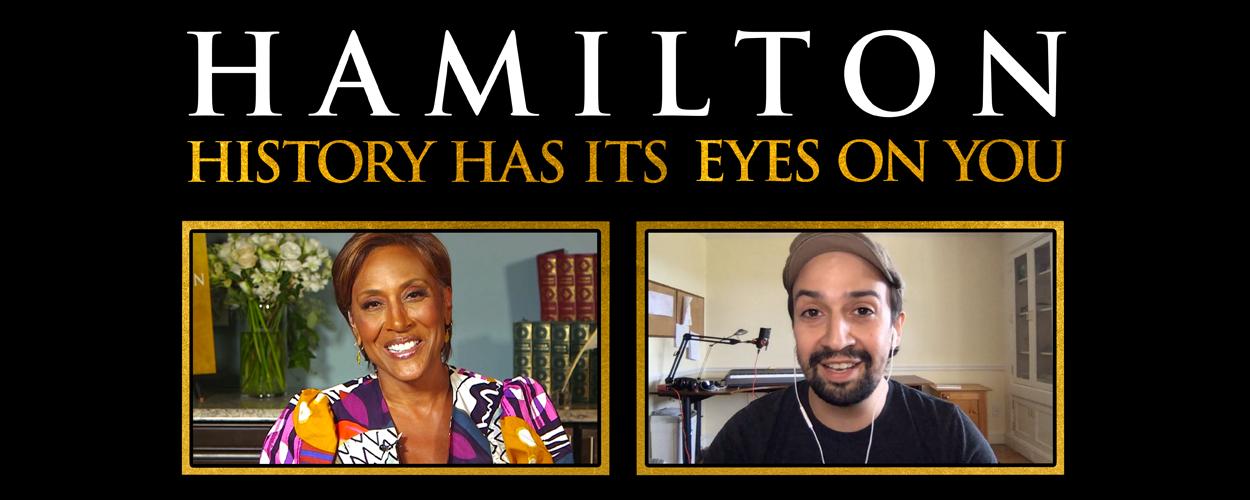 Nieuwe special over Hamilton op Disney Plus