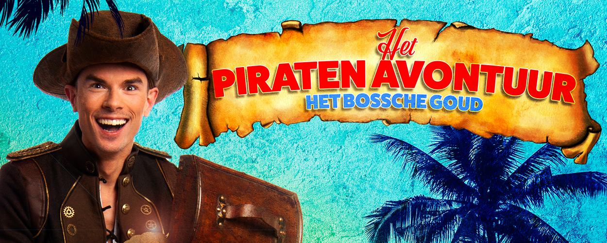 Familiemusical Het Piratenavontuur Het Bossche Goud te zien tijdens de Bossche zomer