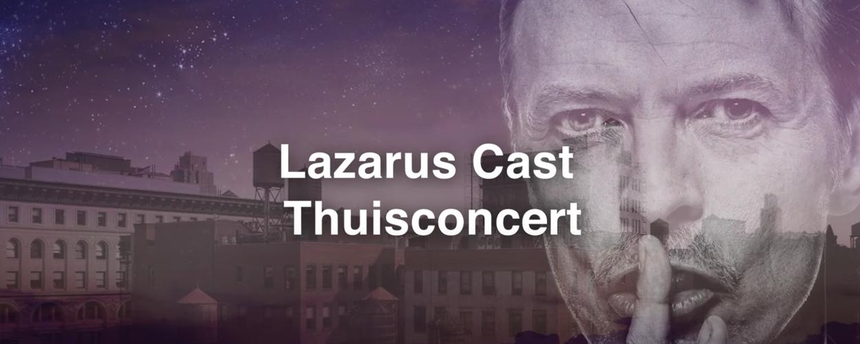 Thuisconcert van het ensemble van Lazarus