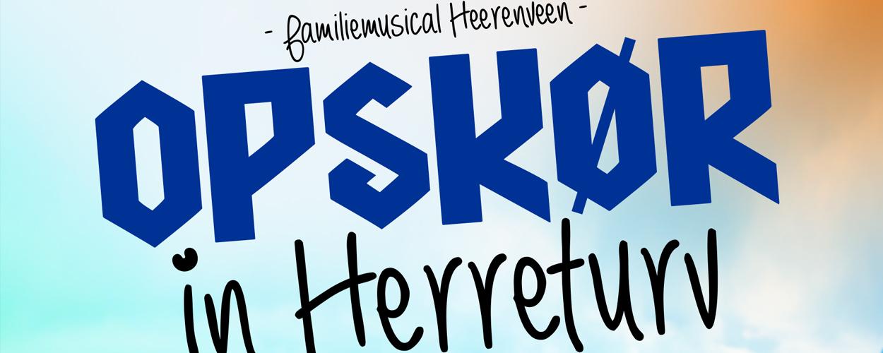 Nieuwe familiemusical in Posthuis Theater in Heerenveen