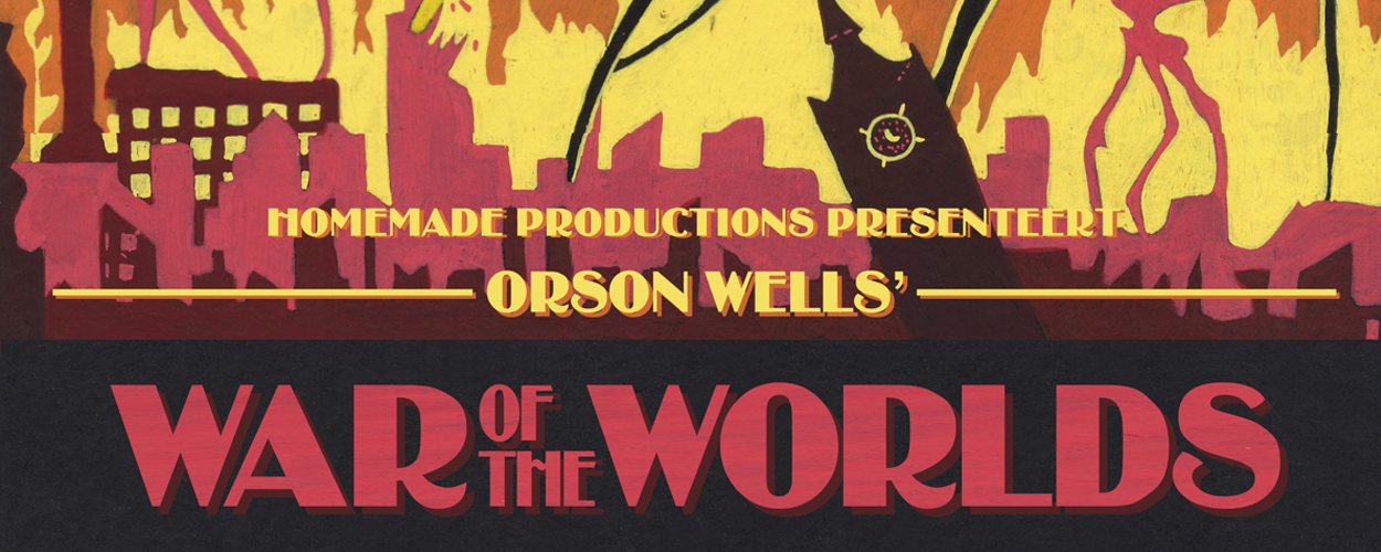 Homemade Productions brengt volgend seizoen War Of The Worlds