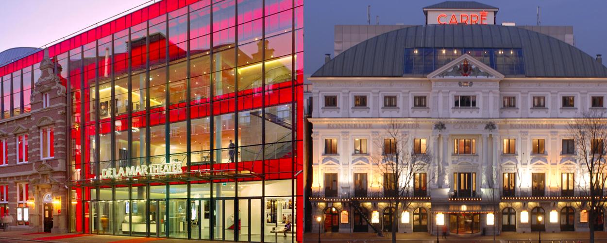 DeLaMar Theater en Koninklijk Theater Carré komende weken gesloten