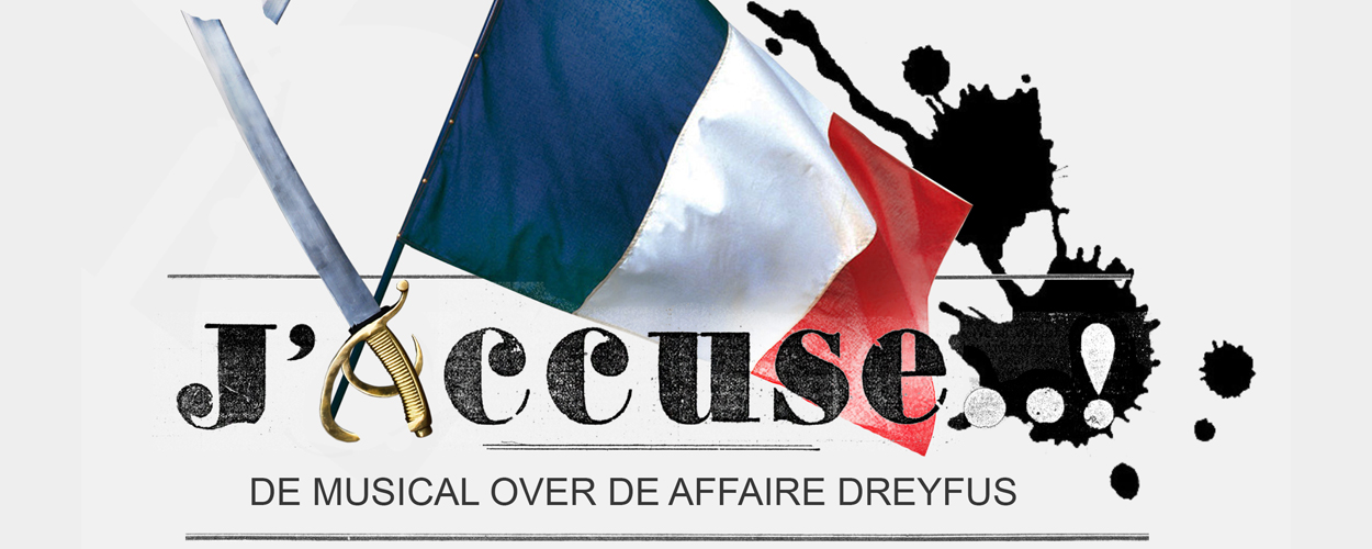Release Cast Album musical J'accuse..! (Man op Duivelseiland)