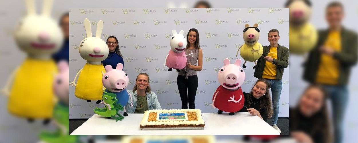 Repetities van start voor Peppa Pig Live!