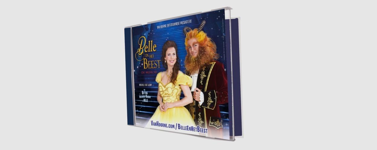 Castalbum van Belle en het Beest de Musical nu beschikbaar