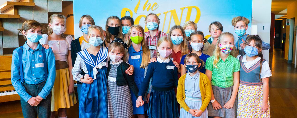 De Von Trapp-kinderen voor Vlaamse The Sound of Music zijn bekend