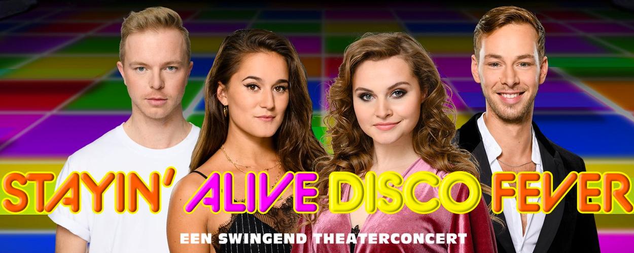 De Graaf & Cornelissen bereidt theaterconcertStayin' Alive Disco Fevervoor