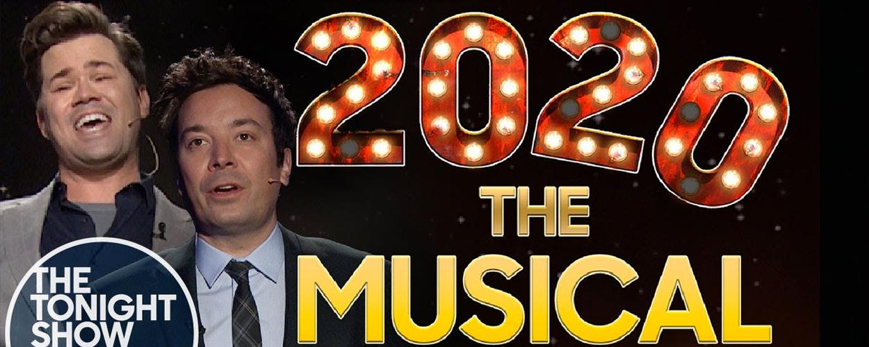 Jimmy Fallon vat 2020 samen in een musical
