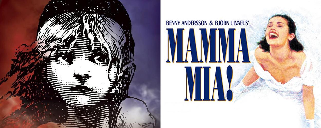 Les Misérables eind mei terug op West End en Mamma Mia! in juni