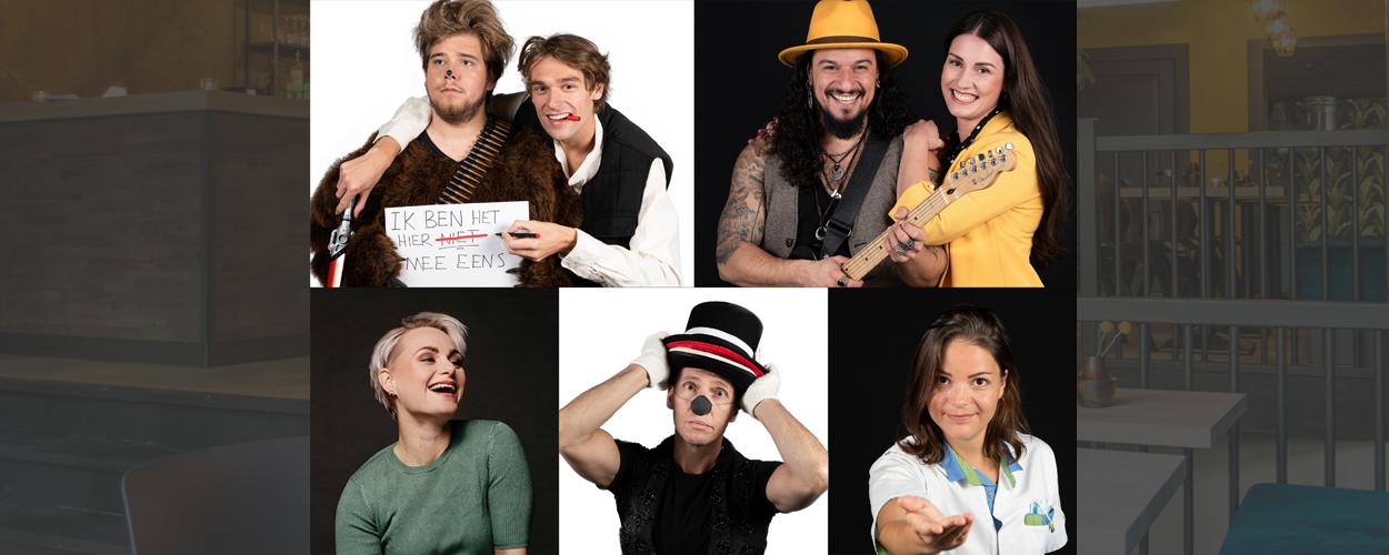TapasTheater open rondom feestdagen met o.a. Marcel Visscher en Nina van Overbruggen