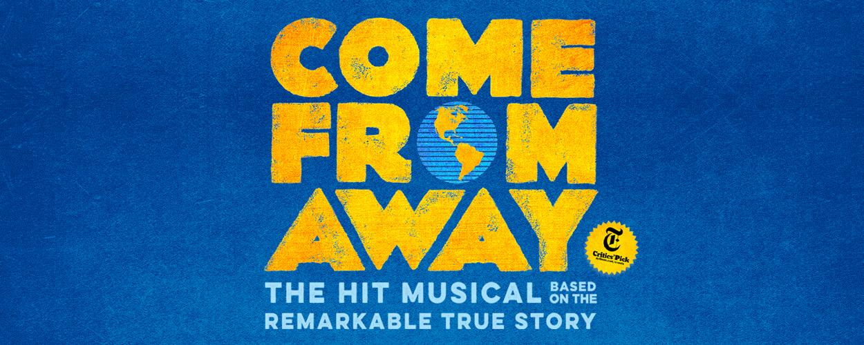 Eerste trailer van de registratie van Come From Away