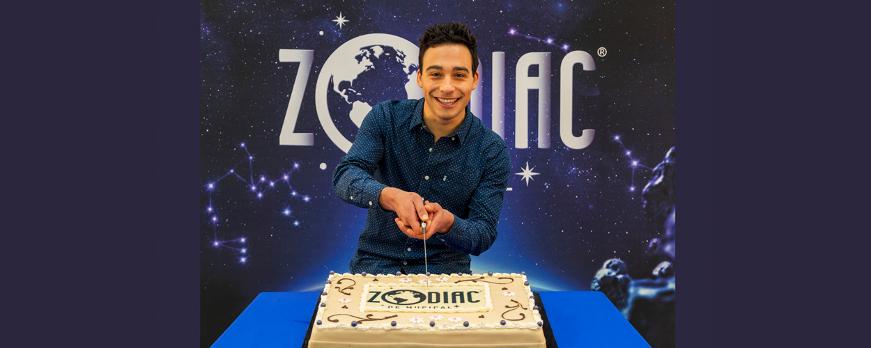 Gehele cast Zodiac de musical bekend