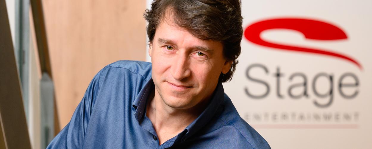 Stage Entertainment benoemt Walter Drenth tot Managing Director Nederland