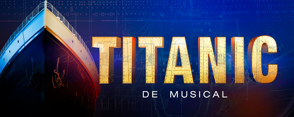 Richard Spijkers speelt kapitein in Titanic