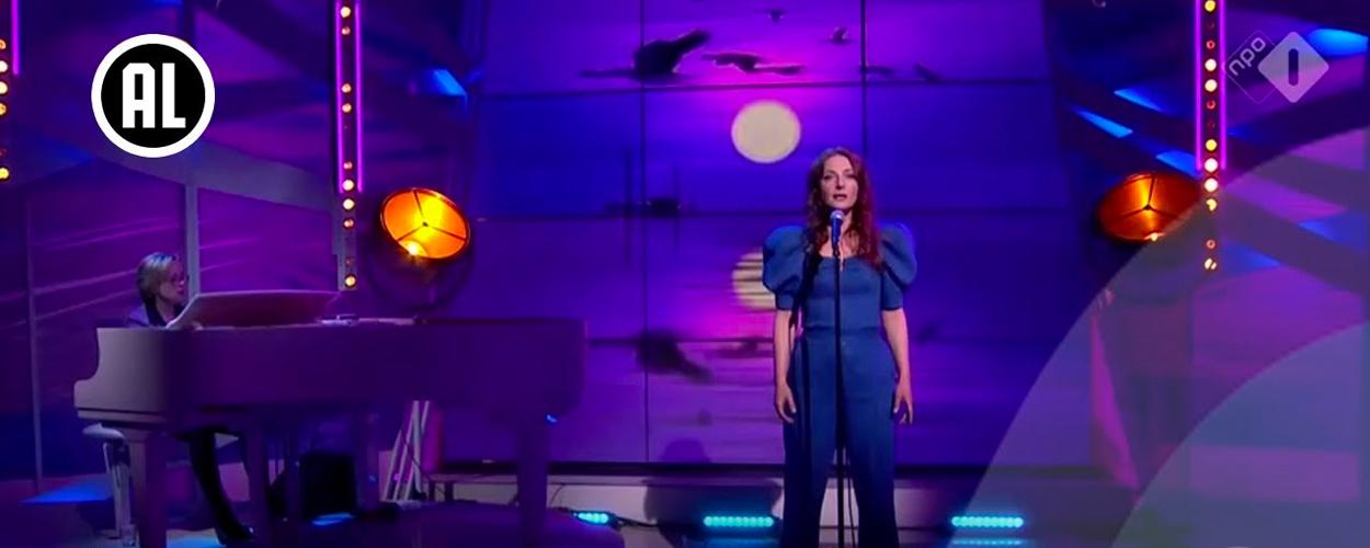 Willemijn Verkaik zingt Mijn Vlucht door de Lucht uit Come From Away